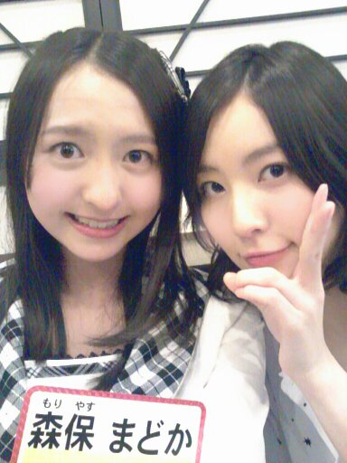 HKT48森保まどかはSKE48木崎ゆりあ以上の丸顔美少女かもしれない