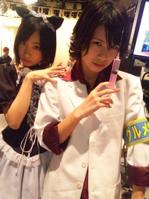 SKE48まとめ27日 公演中6期生のお尻を触りまくる山田みずほなど