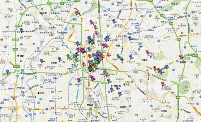 SKE48聖地巡礼マップがごいすー