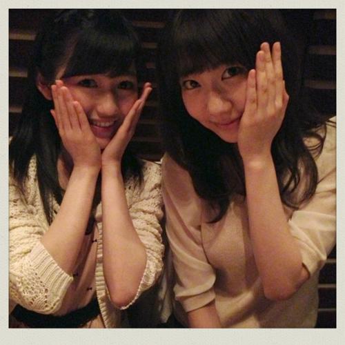 AKB48 久しぶりにまゆゆきりんのツーショットキタ━(゚∀゚)━!