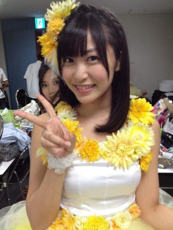 SKE48向田茉夏もウインクなんかするんだな