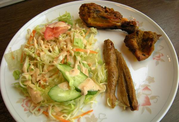 インド料理店 ナンさんのタンドルセット