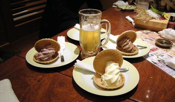 つぼ八八街店さんのアイスのデザート達