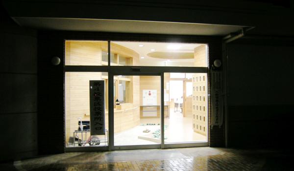 第4投票区投票所 八街中央中学校