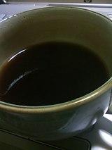 ジュウヤクを煎じたお茶