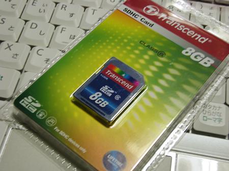 Transcend(トランセンド) SDHCカード 8GB (Class6)