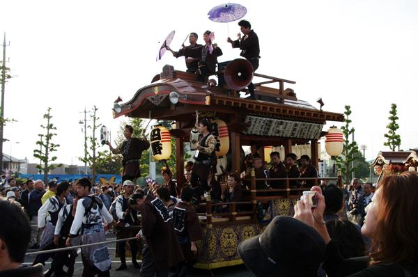 四区の山車 八街大祭2009