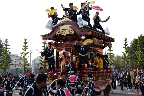 二区の山車 八街大祭2009