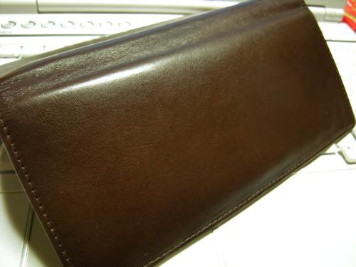 土屋鞄製造所さんのヌメ革小銭入れ付長財布