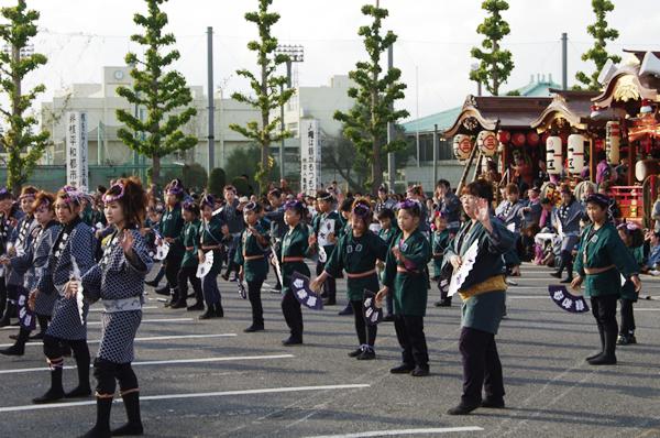 大東区のお囃子と踊り 八街大祭2009