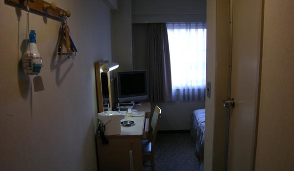 パールホテル千葉部屋の入口