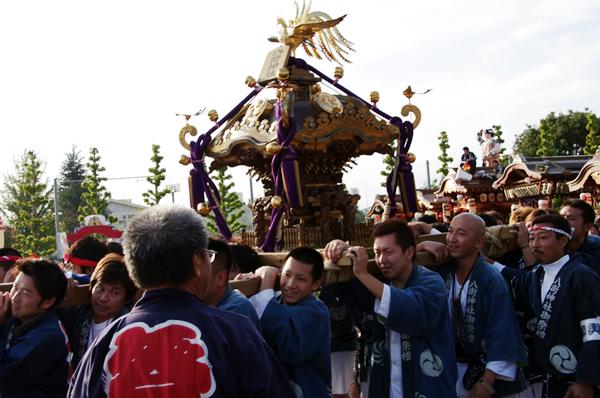 八街市のお神輿 八街大祭2009