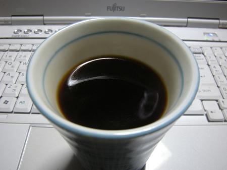 粗挽きコーヒー完成