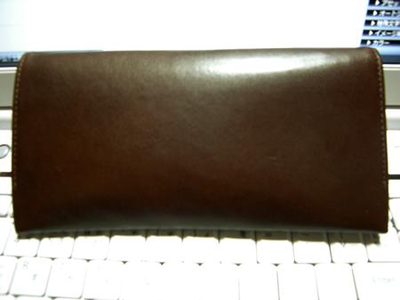 艶が出た土屋鞄製造所さんのヌメ革長財布