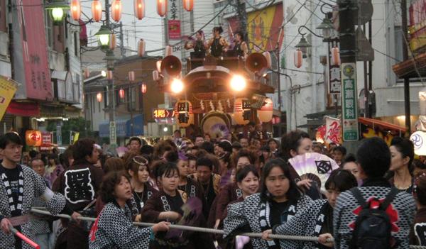 2008 八街大祭の様子