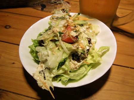豆腐と胡麻の和サラダ完成品