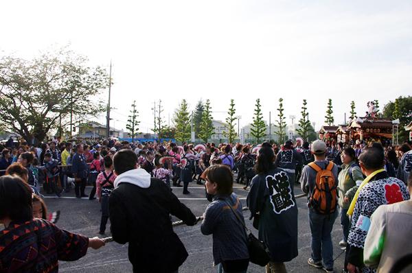 いよいよ山車ガ出発! 八街大祭2009