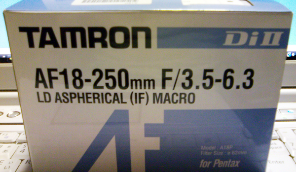 TAMRON AF 18-250mm A18