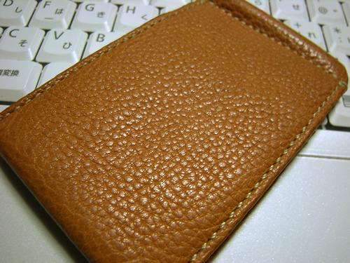 土屋鞄製造所さんのオイルヌメ・ソフトパスケース