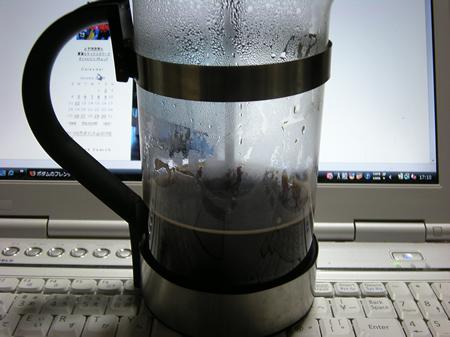 コーヒープレス初体験