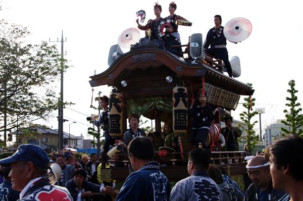 六区の山車 八街大祭2009