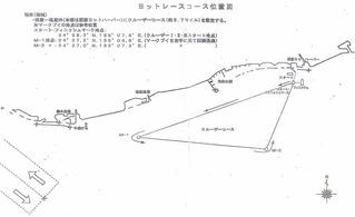 2018神戸まつりヨットレース コース