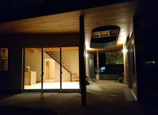 松山市 住宅 中庭 (2)