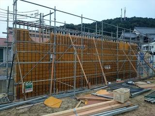 松山市 住宅 コンクリート 壁 (2)