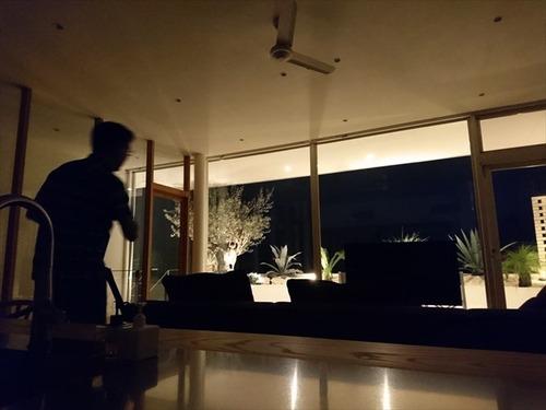 住宅 撮影 階段 リビング001