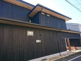 松山市 焼き杉 塗装 モールテックス004