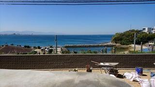 松山市 住宅 空と海