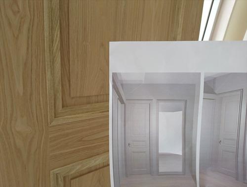 松山市 住宅  ドア002