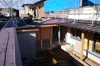 松山市 住宅 屋根 (2)