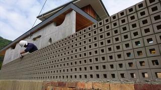 愛媛県 松山市 設計 事務所 海の家 有孔ブロック