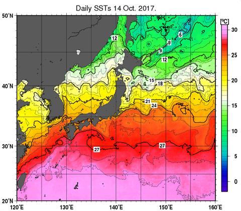 20171016_海水面気温