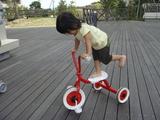 かなでと三輪車1