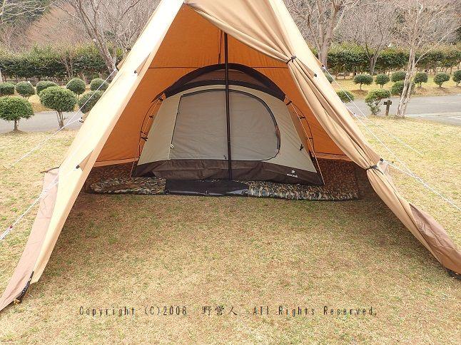 サーカス tc カンガルー カンガルースタイルのカンガルーテントSで冬キャンプできるのか?