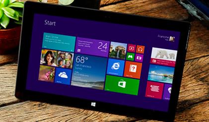 windows8.1のサンプル
