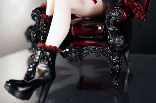 CREA MODE  間桐桜 (黒桜lingerieVer) ガレージキット 塗装済完成品 正規品(特別仕様ヨメテラス付き)fate トレフェス