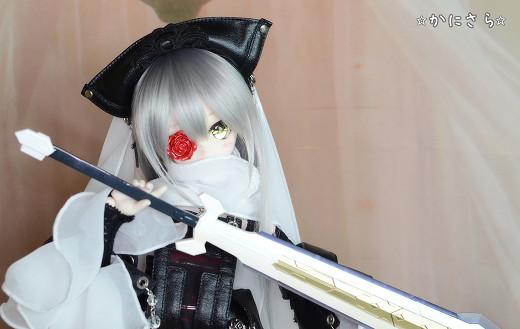 ☆かにさら☆DDH01SW縮小フルカラーLEDアイ+ボディ+衣装+武器