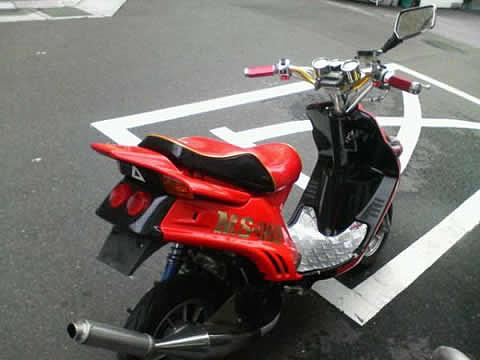 シャア専用バイク フルチューン ガンダム ヤフオク オークション