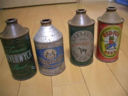 ビール空き缶(アメリカ製・戦前)