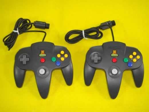 希少! N64用コントローラー X 2個セット (ハローマック)