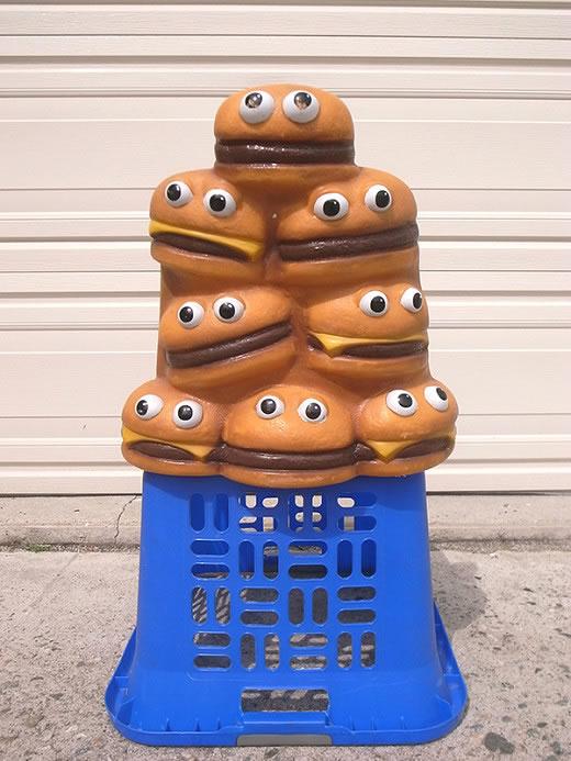 マクドナルド★Mcdonalds★ハンバーガー★ビンテージ★椅子★什器★座椅子★チェア★1980年★特大!レア!