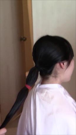 髪束 35cm (20歳・女子大学生・日本人)