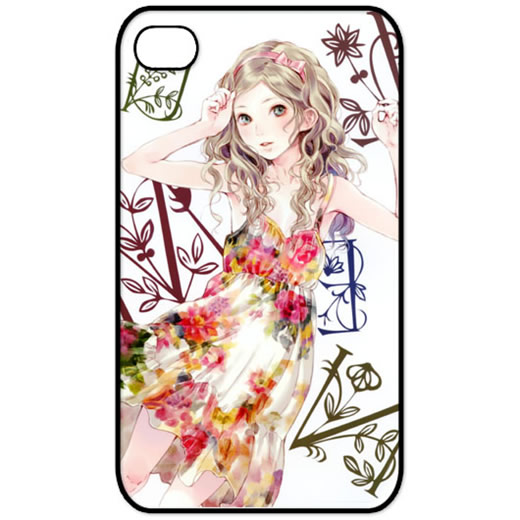【iphone5/5sケース】 花より乙女