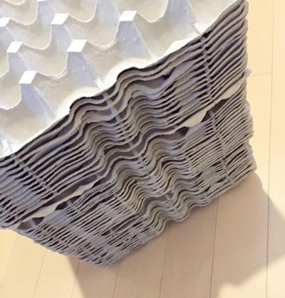業務用卵パック 30枚セット大量 紙 DIYで自作防音壁!