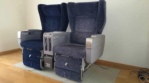 JAL エグゼクティブクラス座席