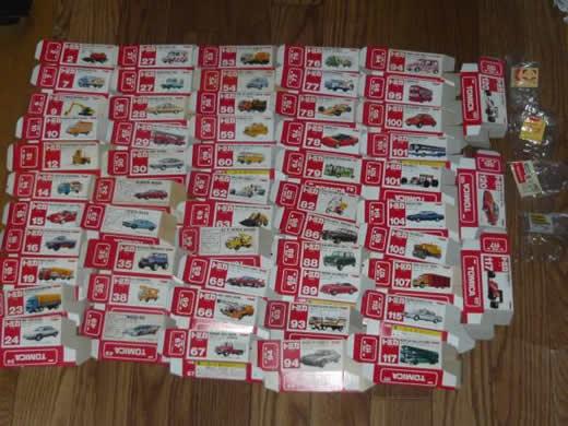 トミカ 日本製 空き箱 赤箱多数 絶版 レア物あるかも? f1