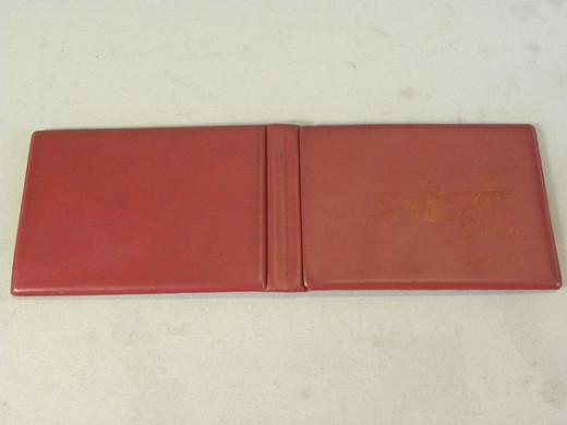 1970年代当時物 カルビー 仮面ライダーカード 最初期 ビニールアルバム (豪華アルバム 古い 昔の ビンテージ 昭和レトロ ライダースナック